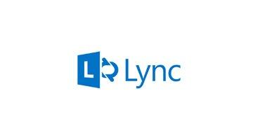 Lync blaa logo