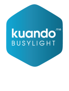 Kuando busylight Hexagon logo