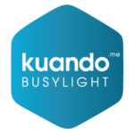 Kuando busylight Hexagon logo