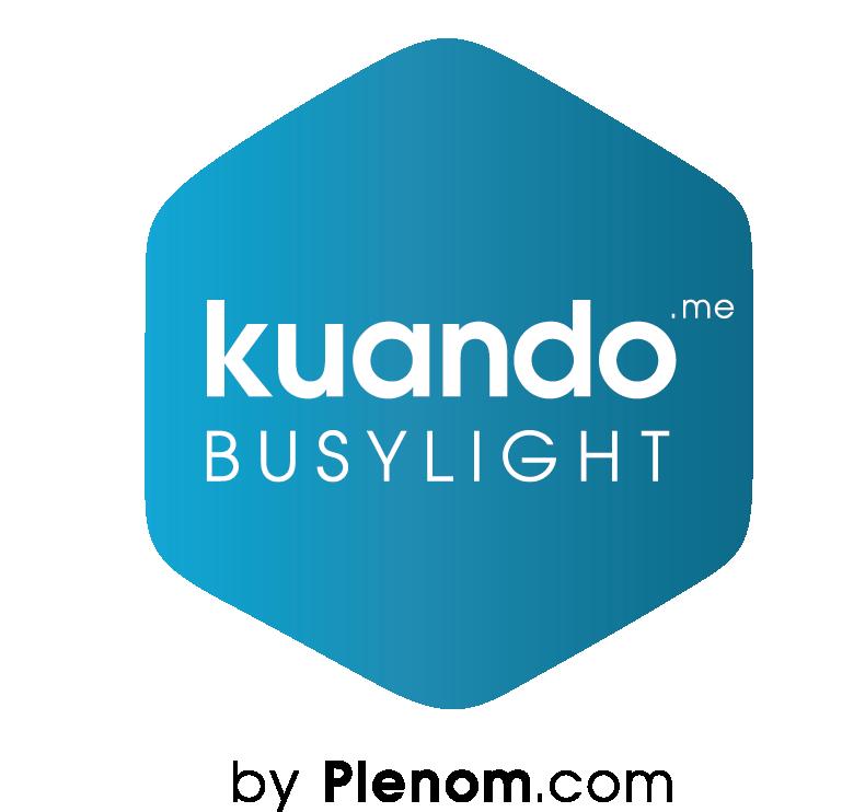 Kuando busylight Hexagon by Plenom logo