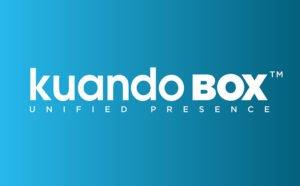 kuandobox unified presence blue logo