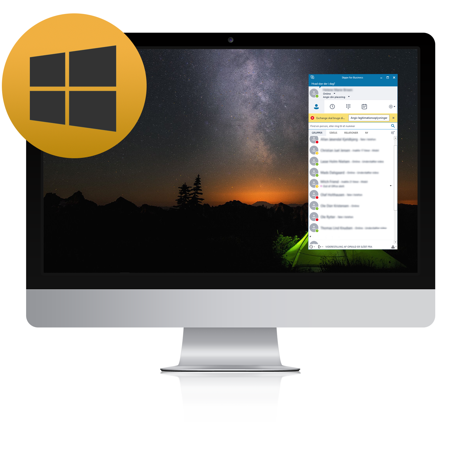 kuando Busylight compatible Skype for Business Windows