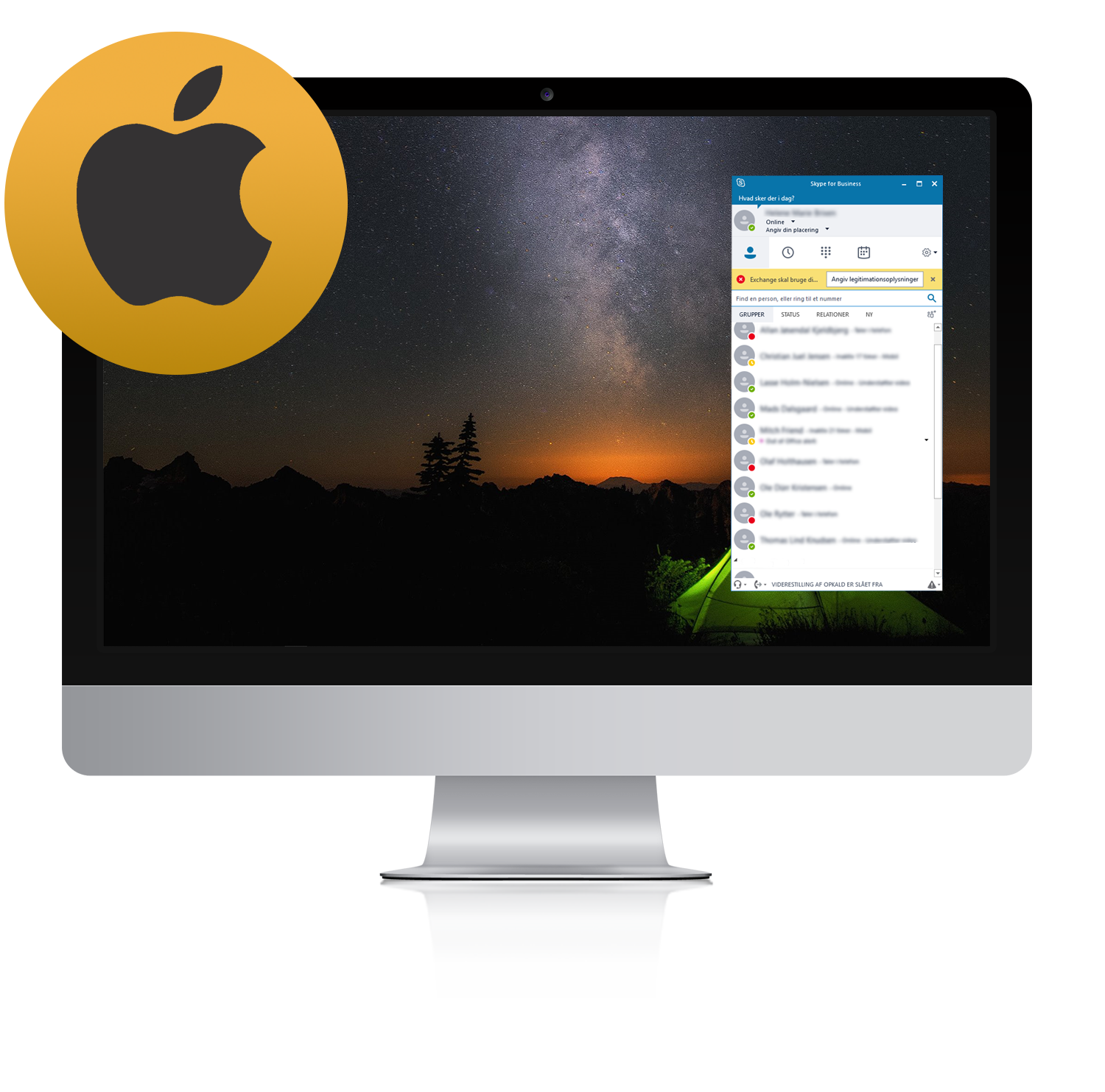 kuando Busylight compatible Skype for Business Mac