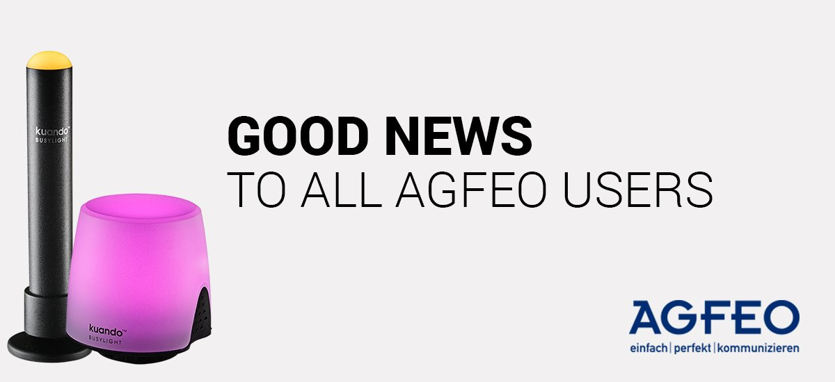 3rd party software Agfeo News