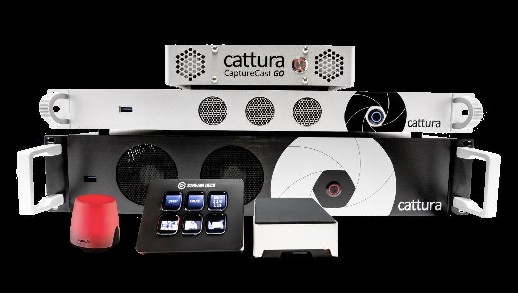 cattura capturecast setup with Busylight