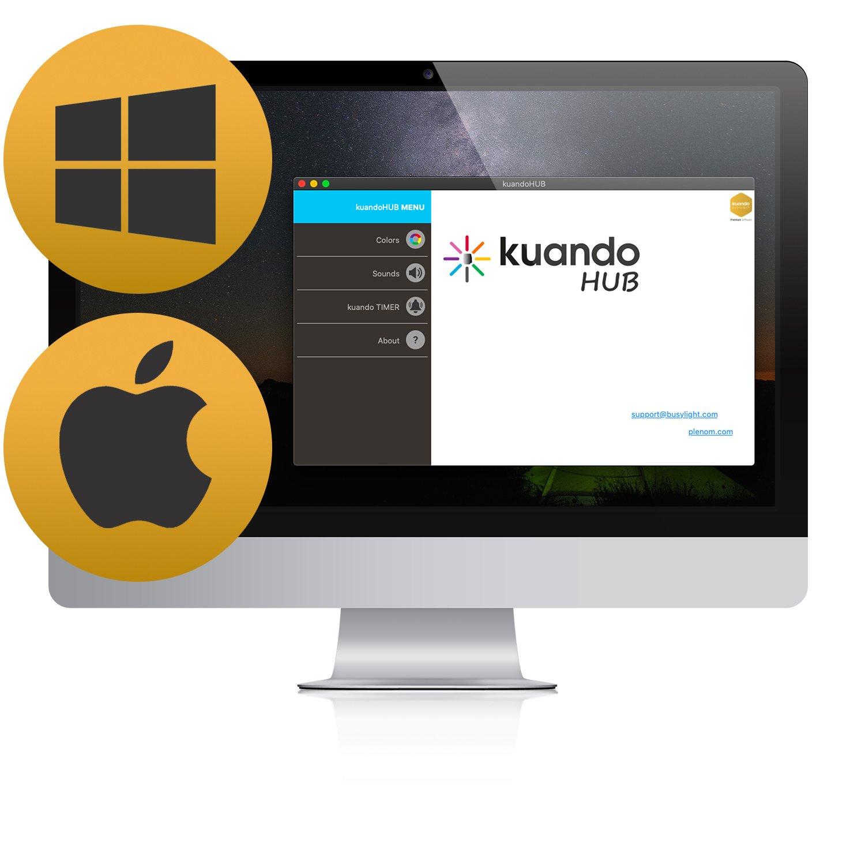 kuandoHUB Mac OS kuando Busylight